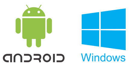 Android Windows Logos