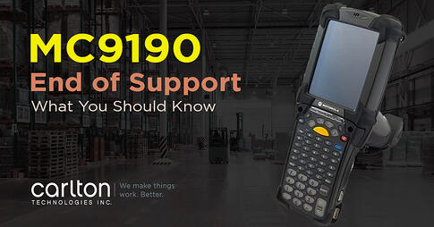mc9190 end of support