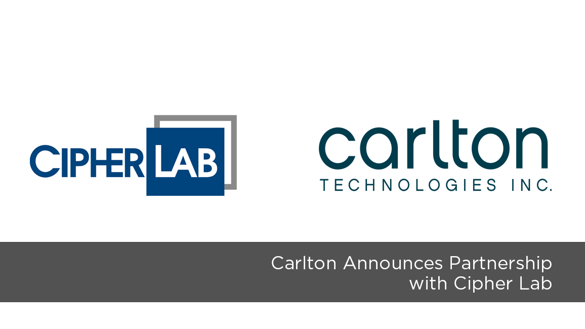 Carlton Announces Partnership with Cipher Lab