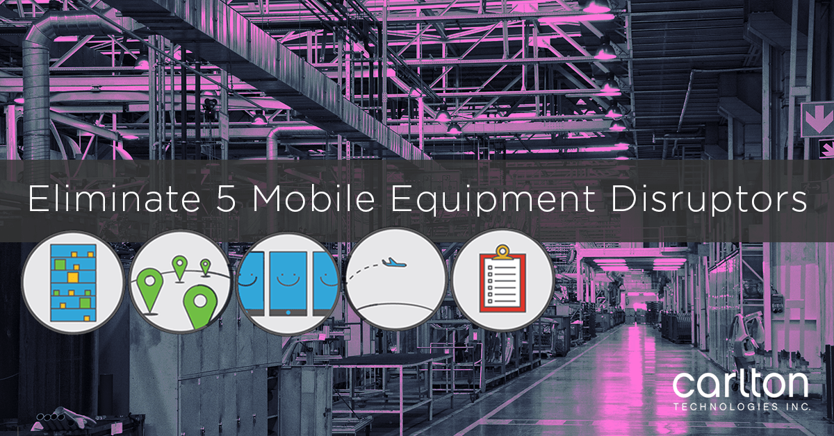 Eliminate 5 Mobile Equipment Disrupters